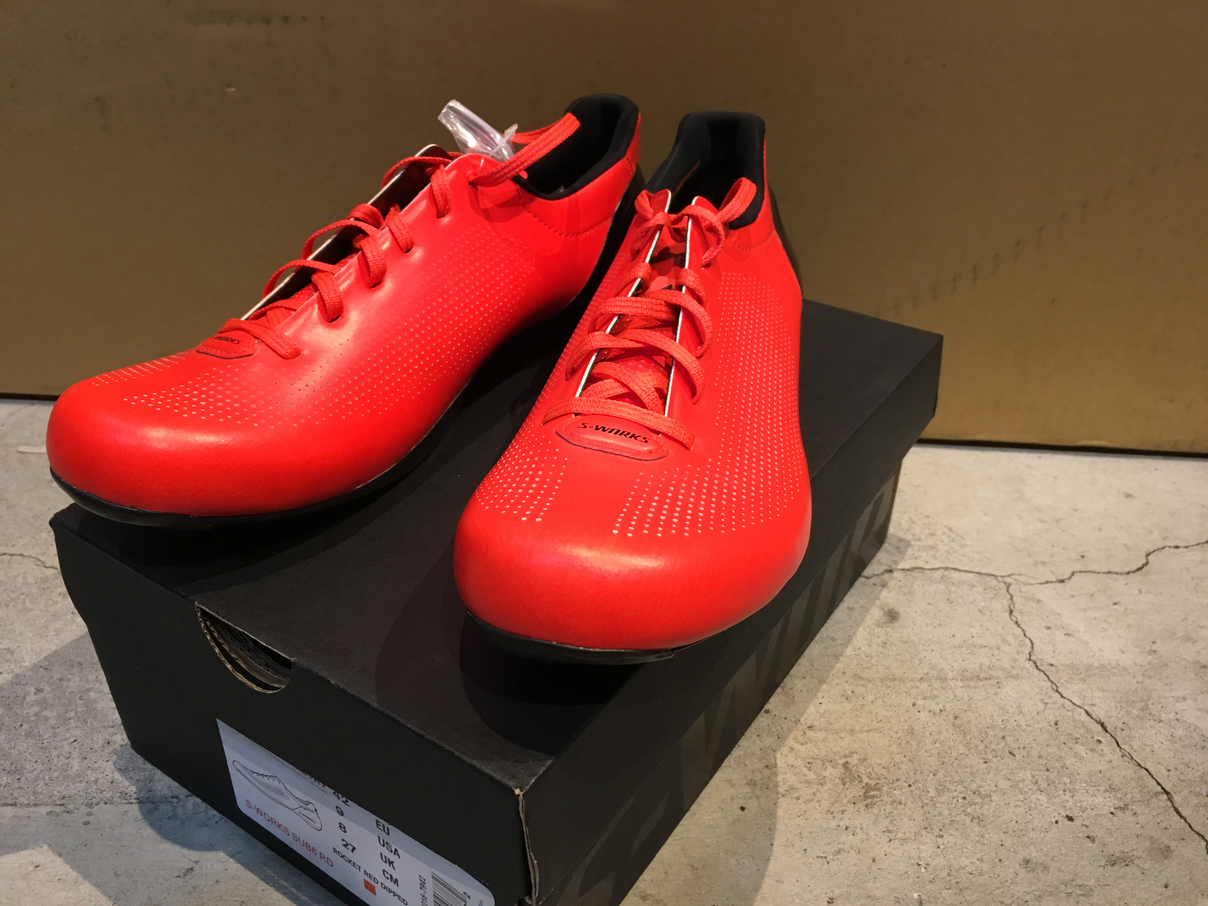 S-WORKS Sub6 RosdShoes(2016RED)